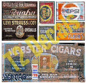 O-Scale-Ghost-Sign-Decals-5-Great-for-Weathering-Structures-Buildings