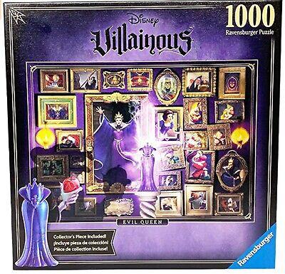 Disney Villainous Snow White Evil Queen 1000 Piece