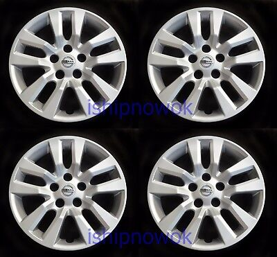 Set (4pcs) Hubcap Wheelcover fits 2013 - 2018 ALTIMA 16