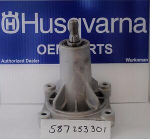 Husqvarna OEM 587253301 or 532192870   Mower Deck Mandrel Assembly (Complete)