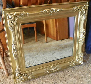 Gold-Carved-Rectangle-Mirror-Wall-Mirror-MR44