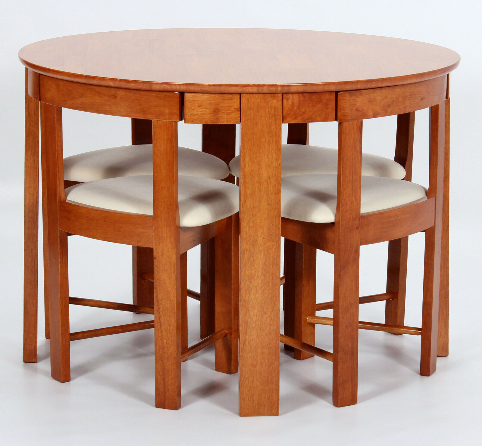 Kitchen Dining Table Set Round Top Four