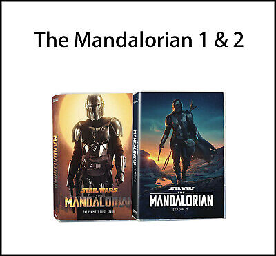 The Mandalorian : Complete Series Seasons 1-2 (5 DVD, Region 1)  New !
