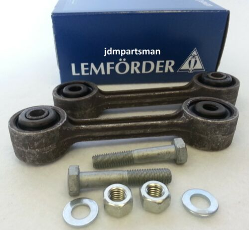 Lemforder ZF Exact Fit BMW Rear Sway Bar Link 2pc Set E23