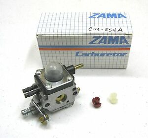 New OEM Zama CARBURETOR Carb for 2 Cycle / Stroke Mantis / Echo Tillers C1U-K54A