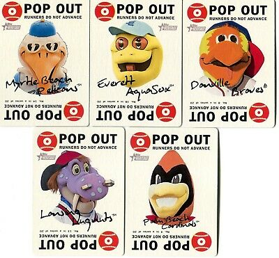 2017 Topps Heritage Minors   Minor League Complete 20 Card 1968 Mascot Set