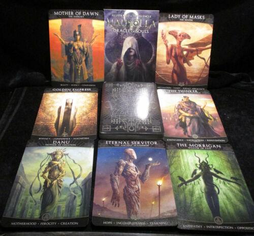 SEALED NEW ~ MAUSOLEA ORACLE OF SOULS CARDS & BOOK SET DARK MYTHS & LEGENDS