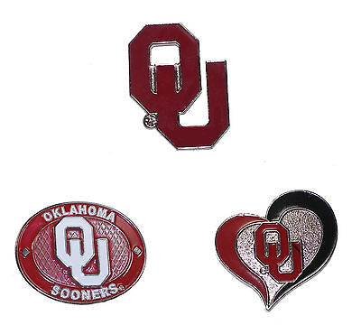 Oklahoma Sooners Lapel Pins About 1
