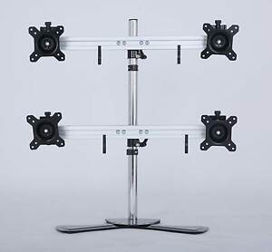 ON SALE - Quad/4/Four XL LCD Monitor Desktop Freestanding Mount S Silverwater Auburn Area Preview