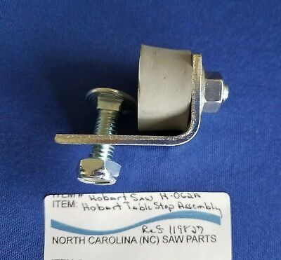 Table Stop Assembly For Hobart Saw 5700 5701 5801 Ref. 119827