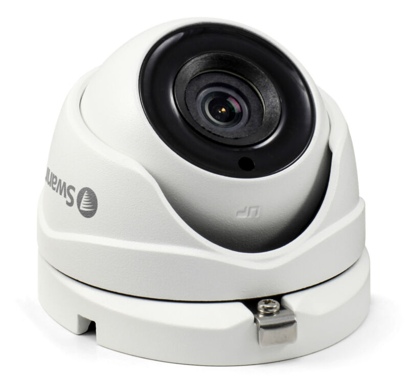 Swann PRO-SERIES HD Indoor/Outdoor CCTV Camera White SWPRO-T891CAM-US