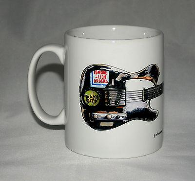 Guitar Mug. Joe Strummer's Fender Telecaster illustration.