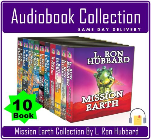 L Ron Hubbard - Mission Earth 1 2 3 4 5 6 7 8 9 10 AudioBook Collection