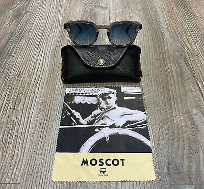 MOSCOT LEMTOSH BROWN ASH 49 SUNGLASSES NEW AND AUTHENTIC LIST 50% OFF (Sunglasses List)