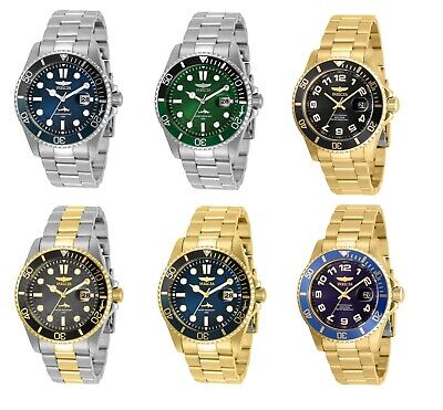 New Invicta Men's Pro-Diver Scuba 43mm Case 100M W/R Japan Quartz MOV Watch