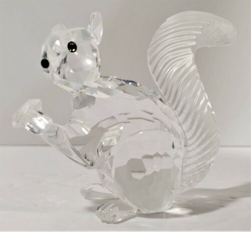 Swarovski Crystal 1997 SCS 10th Anniversary Squirrel 208433 COA