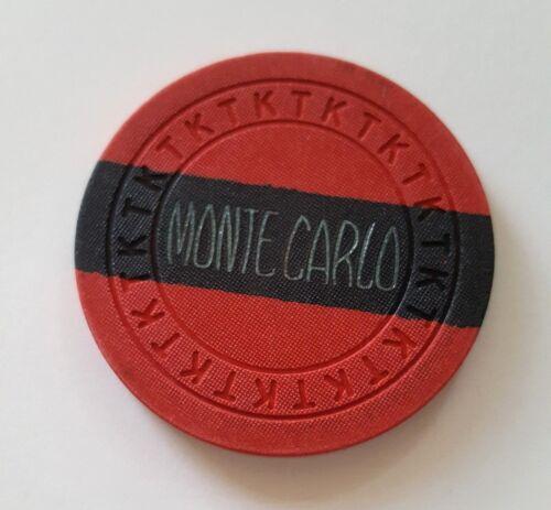 Las Vegas Monte Carlo Club 1946 Casino Chip - CR#N7723