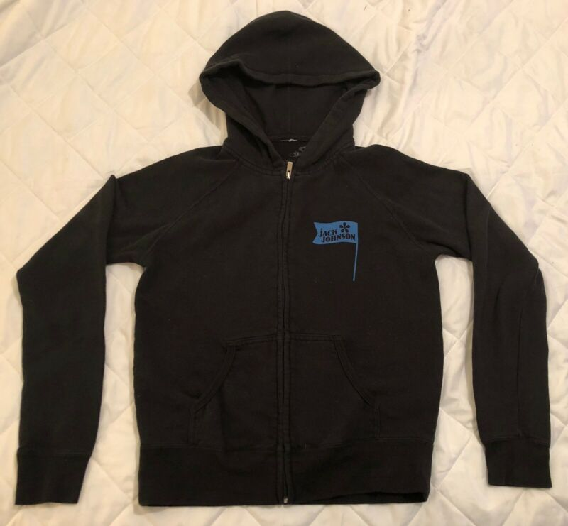Jack Johnson Sleep Through The Static Navy Blue S Zipper Hoodie 2008 Promo