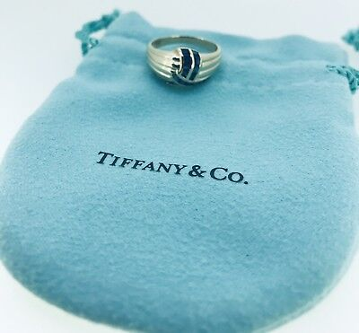 Tiffany & Co. 14K Yellow Gold and Sapphire Cocktail (Gold And Tiffany Blue)