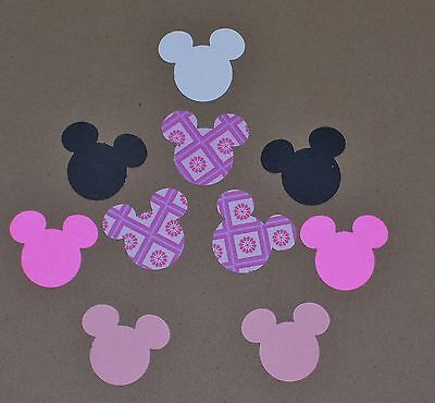 Set of 50 Minnie Mouse Ears Punches~Scrapbooking, Cardmaking, Confetti](Minnie Mouse Confetti)