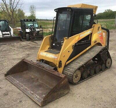 2009 Asv Sr-80 Track Skid Steer 80 Hp Cab Acheat 2 Spd High Flow