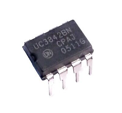 Uc3842bn High Performance Current Mode Controllers - Lot Of 1 5 Or 10.