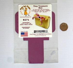 Cheery lynn  metal Die cutting  Treasure favour gift  box b271
