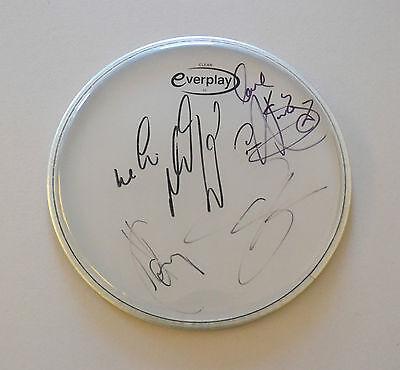 Westlife Signed Drum Skin Shane Filan Kian Egan Autograph Music Memorabilia COA