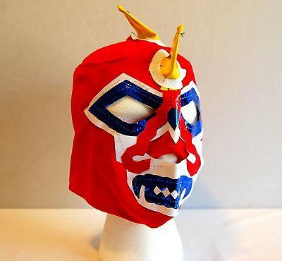 WARRIOR Red LUCHADOR KIDS Mask lucha libre wwe libre Halloween NEW - Luchador Halloween Costume