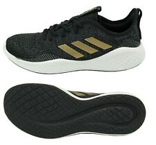 adidas women fluid flow shoes running black casual
