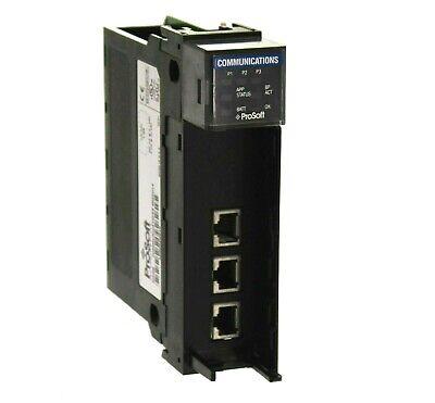Prosoft Technology Mvi56-gsc Generic Serial Communication Module Fw 1.03 Read