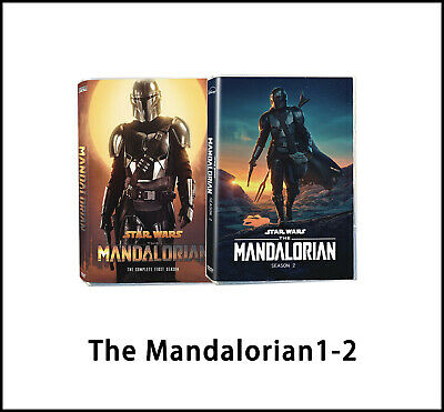 The Mandalorian : Complete Series Seasons 1-2 (5 DVD, Region 1) Brand New