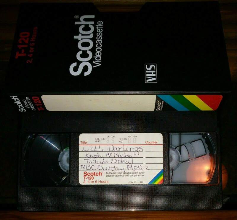#4 Used Blank VHS T120 Scotch 1980