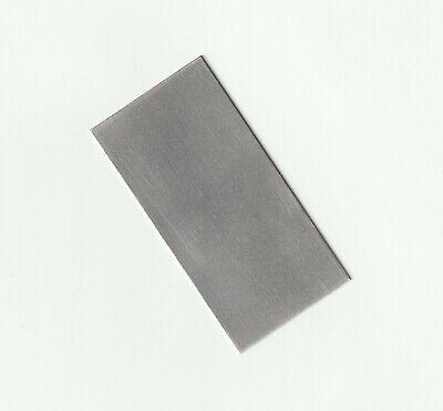 Pure Titanium Plate Anode 999 Sheet 0.8 X 50 X 100 Mm