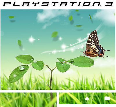 PlayStation 3 PS3 BUTTERFLY Vinyl Sticker Skin (Butterfly Ps3)