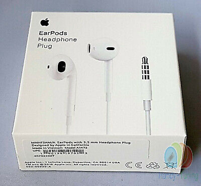 100% Original Apple EarPods with Mic For iPhone 7 / 7 plus / 8 / 8 plus / max