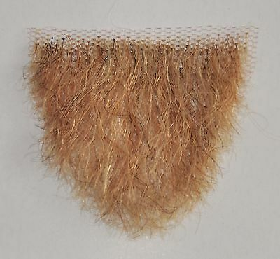Human Hair Very Small Blond  Merkin Female Pubic Toupee the ultimate - Halloween Merkin
