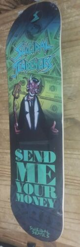 Suicidal Tendencies Show Me Your Money Skateboard Skate Deck MIKE MUIR!