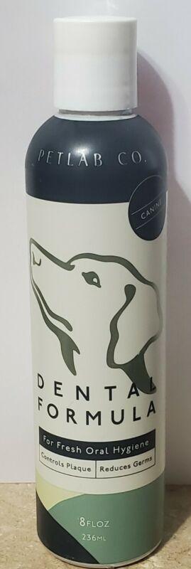 Petlab Co. Dental Wash Formula Water Additive for Dogs 8 Fl Oz. Unsealed 8/2023