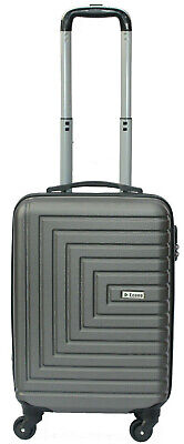 Flybe Ryanair Cabin Bag Suitcase Lightweight Hand Luggage Hard Shell 55x40x20cm