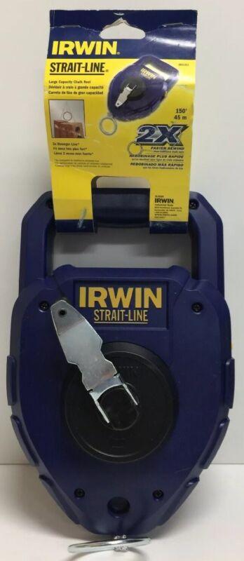 (New) Irwin Large Capacity Chalk line Reel, #2031311 150