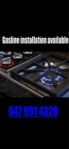 Gas stove installation available
