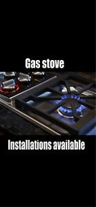Gas stove installations available