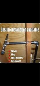 Gasline Instaltion available for stoves