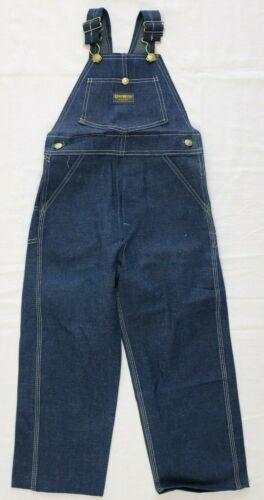 Vtg 1970s OshKosh Overalls Size 7 deadstock nos cotton jeans pants