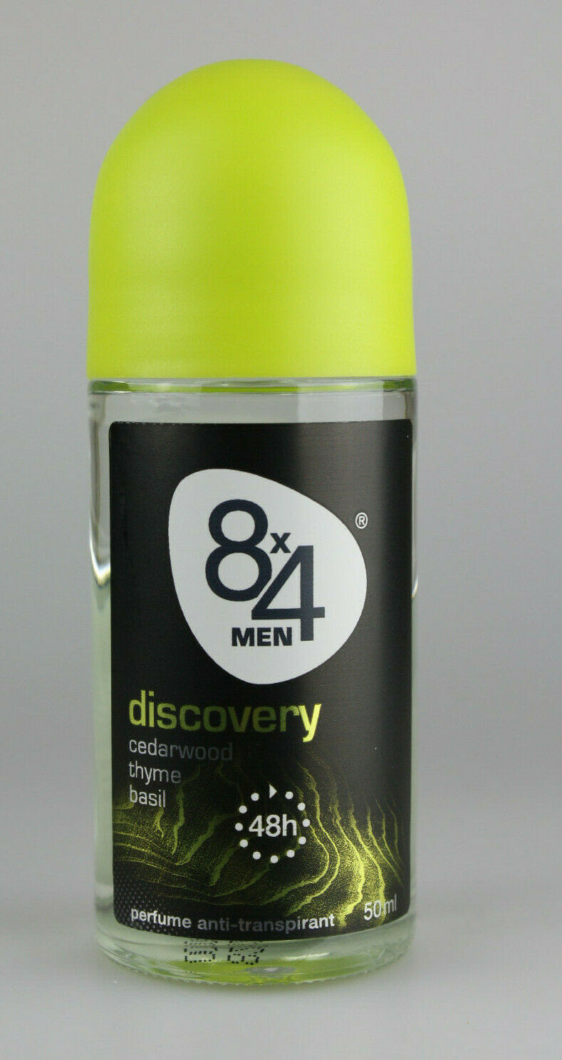 8x4 Men Discovery  Deo Roll-On 15 X 50ml