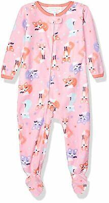 Peas & Carrots (Peas & Carrots Girls Toddler Microfleece Footed Blanket Sleeper, Fox,)
