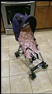 Floral Umbrella Stroller