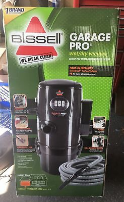BISSELL Garage Pro Wet Dry Canister Wall Mount Vacuum Cleaner 18P03 BRAND