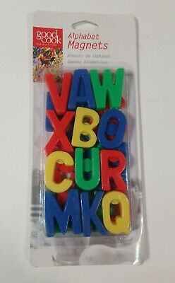 Magnetic Alphabet Letters 26 PCS Refrigerator ABC Good Cook Magnets #20110